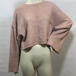 TopShop Cropped Sweater Sz 6